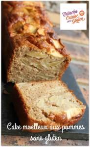 Cake moelleux pommes sans gluten