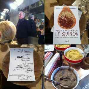 Lancement livre Quinoa JP Derenne