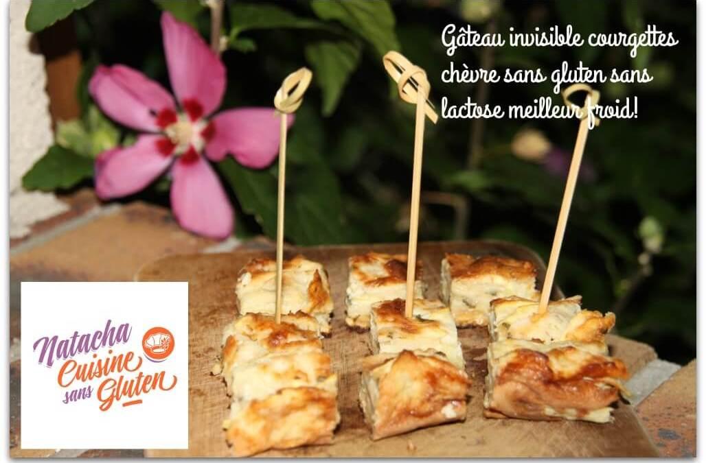 Gâteau invisible courgettes chèvre sans gluten sans lactose