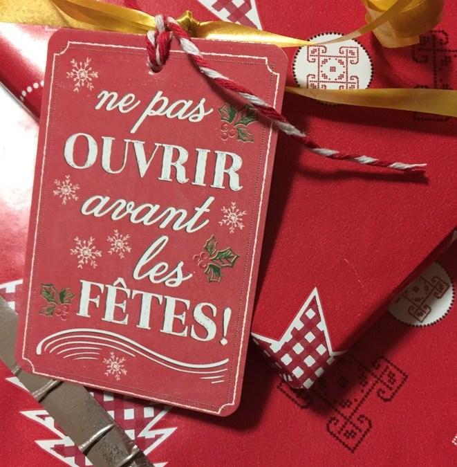 Idées cadeaux de Noël de dernière minute sans gluten