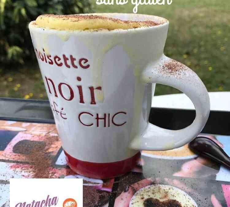 Mug cake moelleux sans gluten