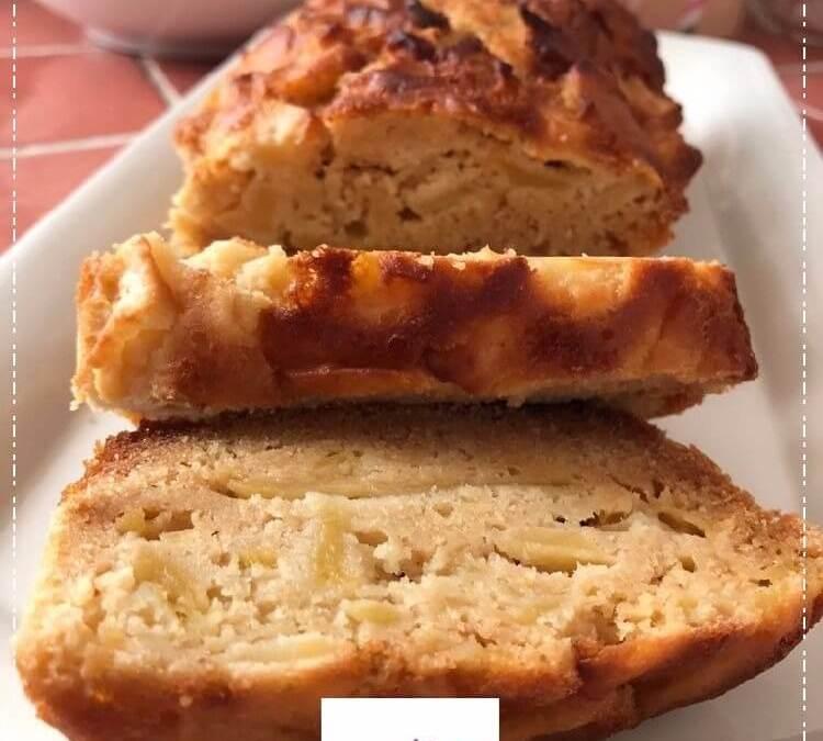 Cake aux pommes sans gluten