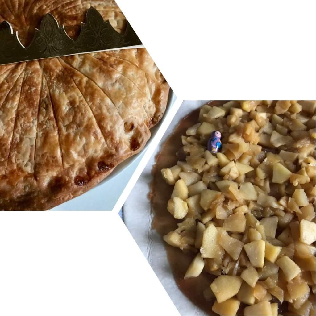Galette des rois pommes crème de marron sans gluten