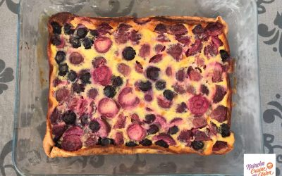 Clafoutis fruits rouges sans gluten