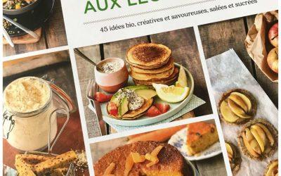 J'ai lu «mes recettes sans gluten aux légumineuses» (Ed Terre Vivante)