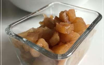 Compotée de pommes à l'omnicuiseur