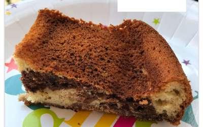 Gâteau marbré sans gluten et sans beurre