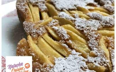 Tarte suisse aux pommes sans gluten