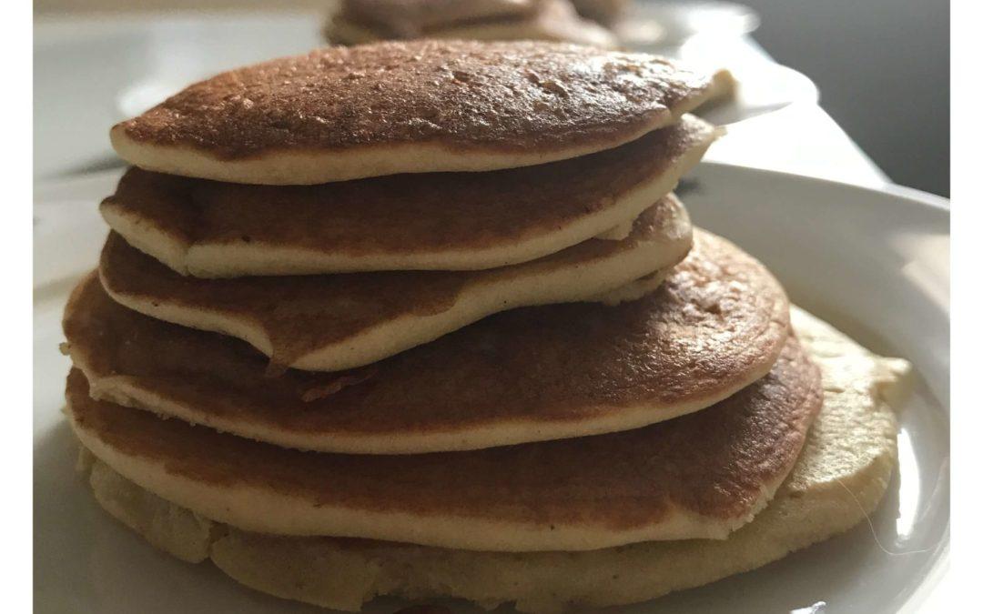 Pancakes épais et sans gluten