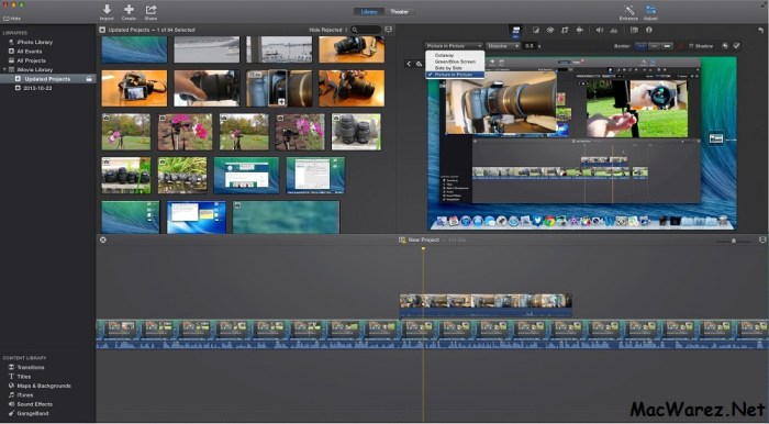 iMovie Mac crack download