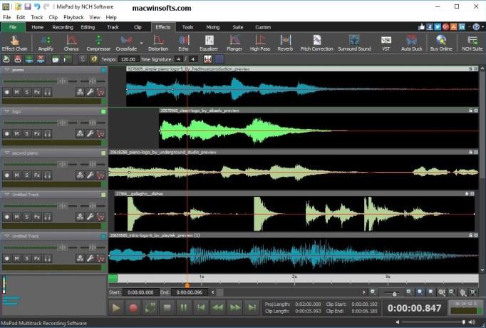 mixpad free download full version mac