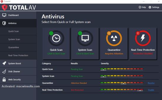 Total AV Antivirus Serial Key