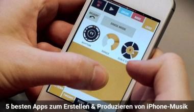 5 besten Apps zum Erstellen & Produzieren von iPhone-Musik