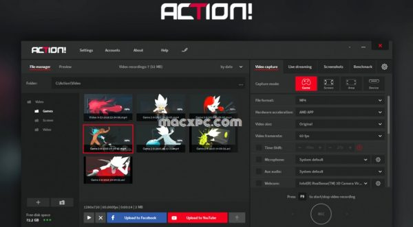 Mirillis Action! 4.11.1 Crack + Serial Key Download Free [Latest]