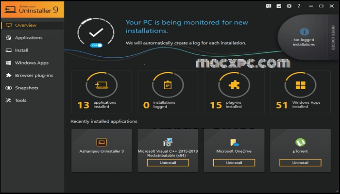 Ashampoo UnInstaller 9.00.10 Crack + Key [ Latest Version]
