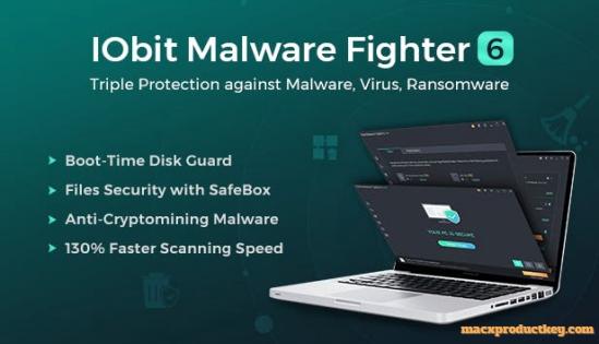 IObit Malware Fighter 6.4.0.4919 Crack + Keygen Download