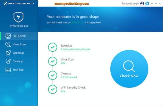 download 360 total security crack