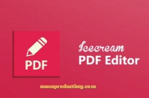 IceCream PDF Editor 1.17 Crack + Patch Free 2019