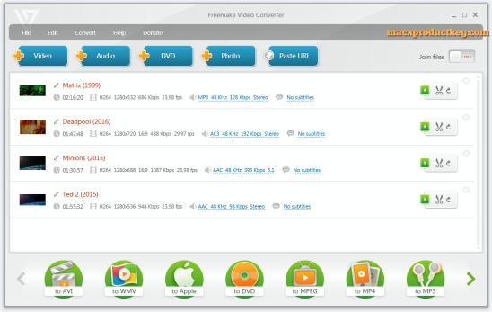 Freemake Video Converter 4.1.11.75 Crack + Patch 2020 Free Get Here
