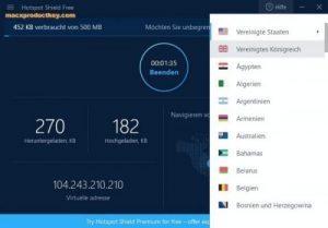Hotspot Shield 10.21.2 Crack With License Premium 2019 Free [Mac+Win]