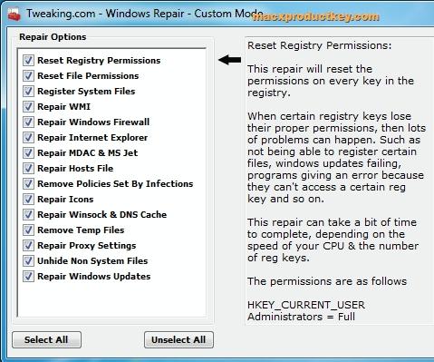 Windows Repair 4.5.3 Crack + Registration Key 2019 Download [MacOs]