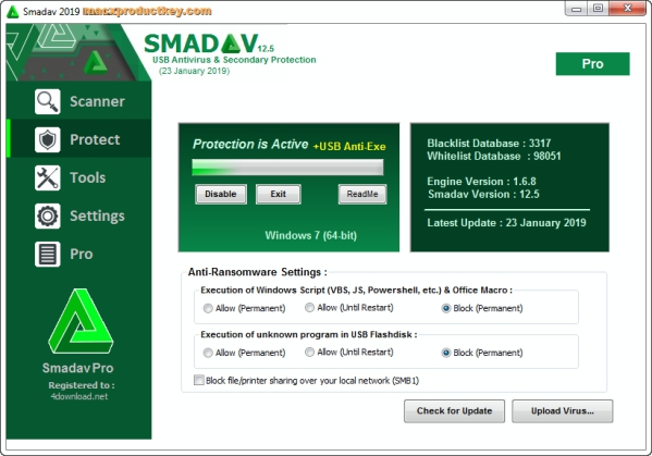 Smadav Antivirus 2019 Rev 13.0 Crack Plus Keygen Latest Here!