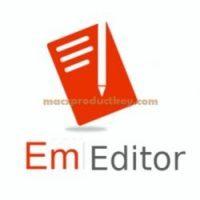 EmEditor Professional Crack v21.0.0 + [x64-x86] Lifetime Key Download