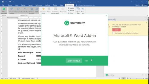 Grammarly for MS Office 6.8.236 Crack + Product Keygen Latest Version
