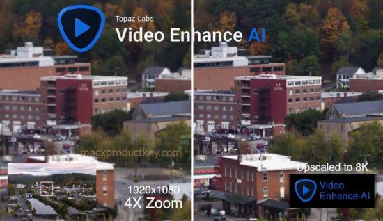 Topaz Video Enhance AI 2.2.0 Crack Full Version Download for Win/Mac