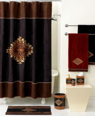 Avanti Bath Accessories Mojave Shower Curtain Bathroom Accessories Bed Amp Bath Macys