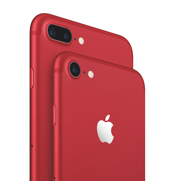 Apple præsenterer iPhone 7 og iPhone 7 Plus (PRODUCT)RED Special Edition
