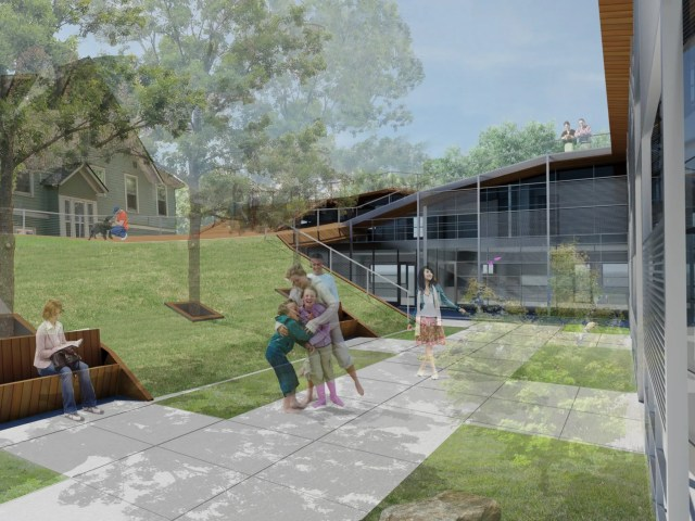 Portland Courtyard Housing