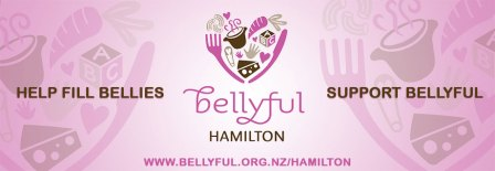 Pukete Board creative. Bellyful Hamilton. Help fill bellies. Support Bellyful. www.bellyful.org.nz/hamilton