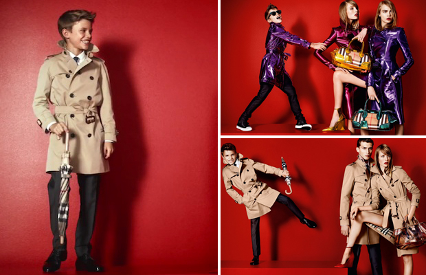 Watch-Romeo-Beckham-model-for-Burberry