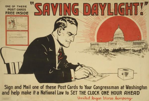 Καμπάνια για να καθιερωθεί η θερινή ώρα στις Η.Π.Α....