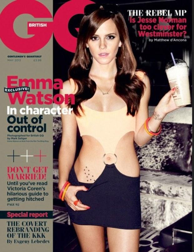 Emma Watson GQ Magazine Cover