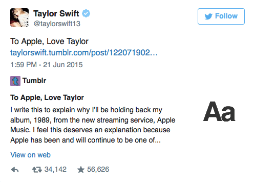 Apple Agrees To Pay Musicians During Free Trial After Taylor Swift Speaks Out - BuzzFeed News 2015-06-22 11-03-56