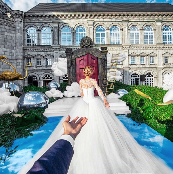 This Dude Who's Followed His Girlfriend Around The World Just Photographed Their Wedding Perfectly 2015-06-08 16-04-34