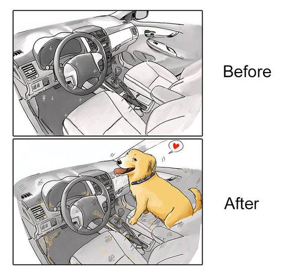 Η καθαριότητα του αυτοκινήτου.