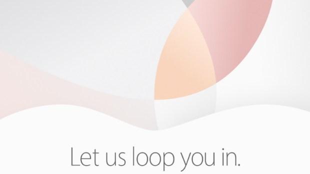 Apple: Let us loop you in στις 21/03