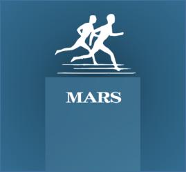 Mars running team logo