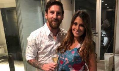 πως χρησιμοποιεί την κοιλιά της η εγκυμονούσα σύντοφος του Lionel Messi!