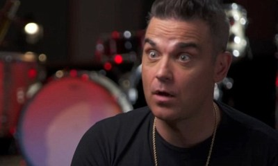 Ο Robbie Williams είδε UFO