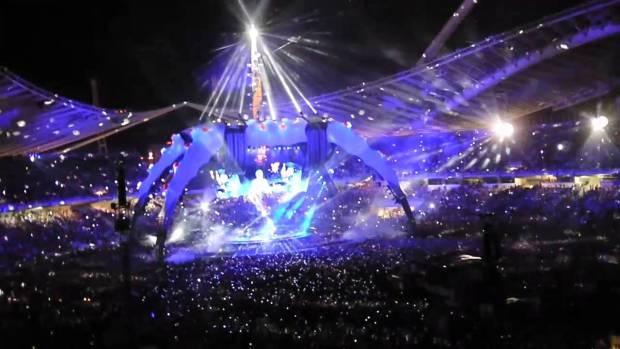 Mεγάλοι σταρ που έδωσαν συναυλία στην Ελλάδα