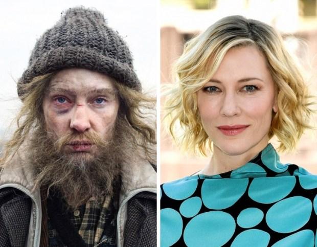 Διάσημοι ηθοποιοί μεταμφιεσμένοι για χάρη των ταινιών τους