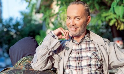 Λάκης Γαβαλάς στο Next Top Model