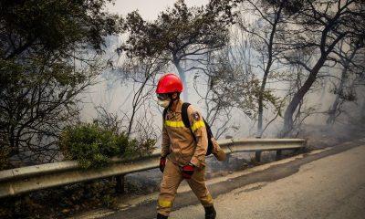απαγόρευση κυκλοφορίας λόγω υψηλού κινδύνου πυρκαγιάς