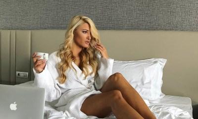 Ιωάννα Τούνη έβγαλε βίντεο σε κρεβάτι ξενοδοχείου
