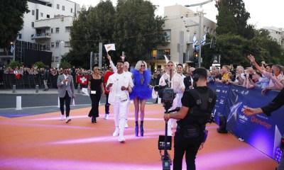 TΤάμτα στο orange carpet της Τελετής Έναρξης της Eurovision 2019