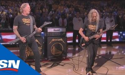 Metallica στους τελικούς του NBA